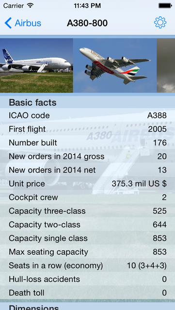 Encyclopedia of Airliners Pro screenshot 21