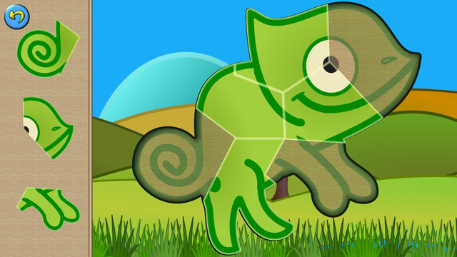 My baby first dino: dinosaur puzzle game for kids screenshot 9