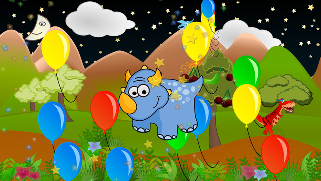 My baby first dino: dinosaur puzzle game for kids screenshot 10