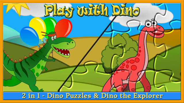 My baby first dino: dinosaur puzzle game for kids screenshot 11