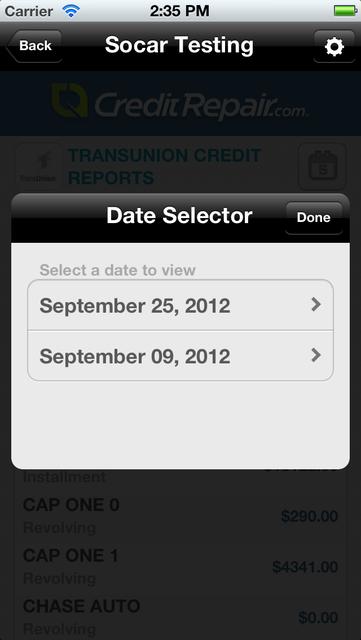 CreditRepair screenshot 5