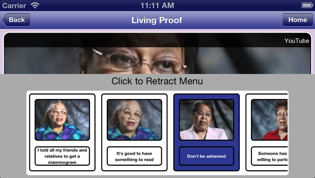 Living Proof: Breast Cancer Survivor Stories screenshot 4