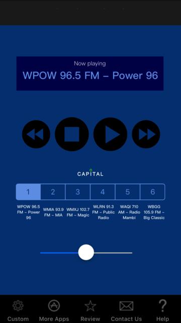 Miami Radio Live screenshot 1