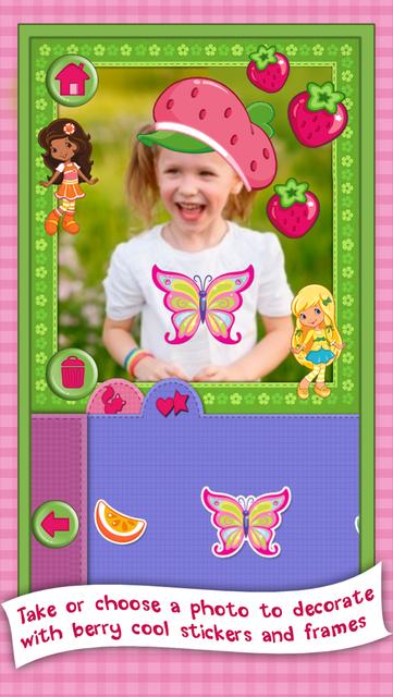 Strawberry Shortcake Card Maker Dress Up - Fashion Makeover Game for Kids screenshot 8