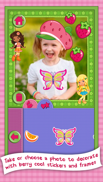 Strawberry Shortcake Card Maker Dress Up - Fashion Makeover Game for Kids screenshot 20