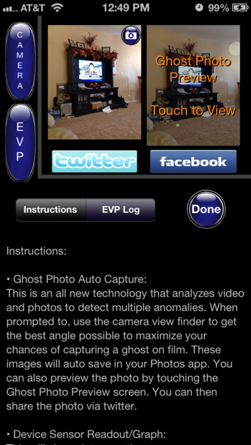 Ghost Detect Pro screenshot 3