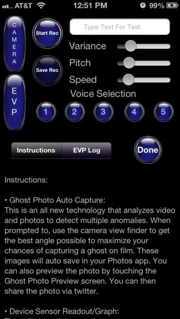 Ghost Detect Pro screenshot 4