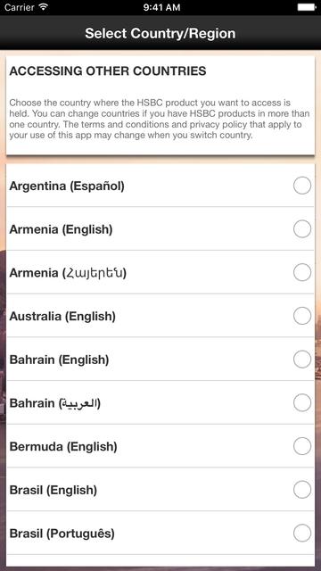 HSBC Mobile Banking screenshot 5