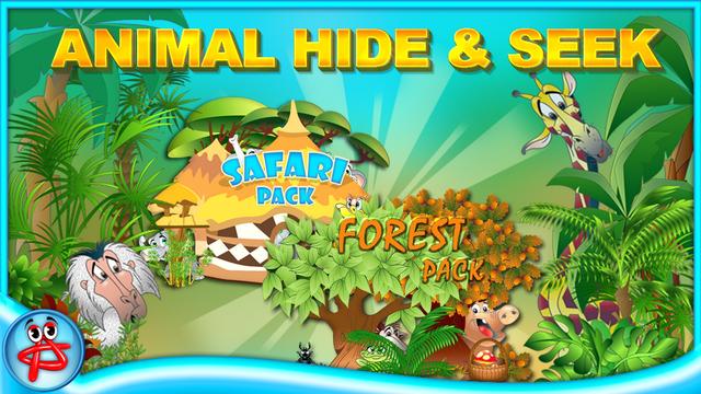Animal Hide and Seek: Hidden Objects screenshot 1
