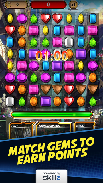 Diamond Strike - Match 3 Games screenshot 5