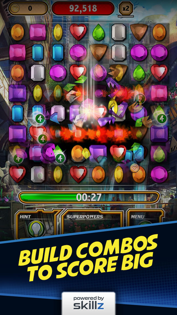 Diamond Strike - Match 3 Games screenshot 6