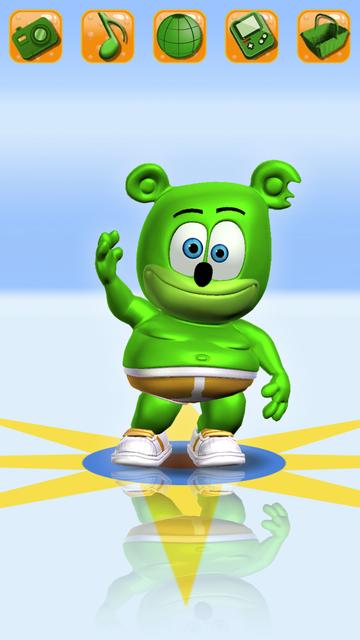 Talking Gummy Bear Pet screenshot 1