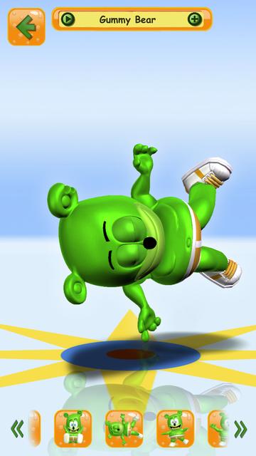 Talking Gummy Bear Pet screenshot 3