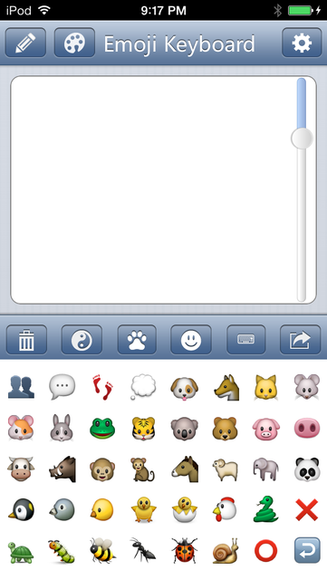 Emoji Keyboard - Save Color Text Characters Symbols Emoticons To Albums Pro screenshot 5