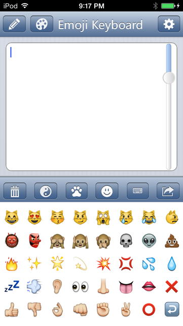 Emoji Keyboard - Save Color Text Characters Symbols Emoticons To Albums Pro screenshot 3
