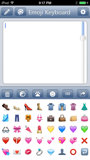 Emoji Keyboard - Save Color Text Characters Symbols Emoticons To Albums Pro screenshot 4
