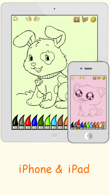 Draw & Paint - Sketching & Coloring Pictures - Cute Caricature Art Ideas for Kids screenshot 5