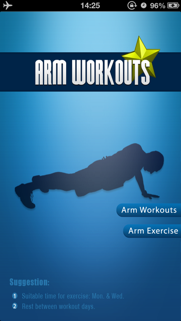 Arm Workouts - Sculpting Perfect Arms with Arm Workouts screenshot 1