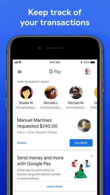 Google Pay (old app) screenshot 5