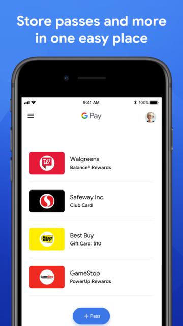 Google Pay (old app) screenshot 3