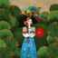 Scarlet Flower fairy tale - the beautiful interactive book for children
