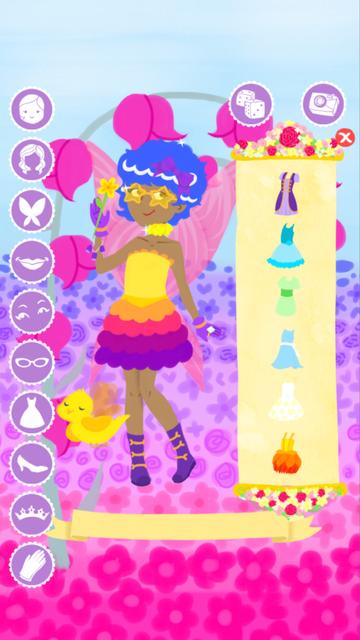 Fairy Fashion Show Dress Up Gold screenshot 3