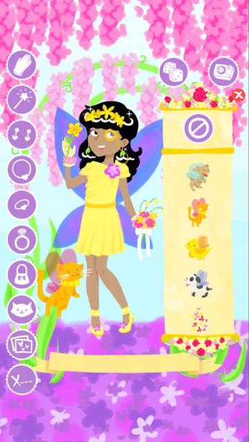 Fairy Fashion Show Dress Up Gold screenshot 4