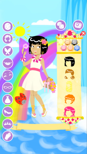 Fairy Fashion Show Dress Up Gold screenshot 5