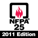 Icon for NFPA 25 2011 Edition