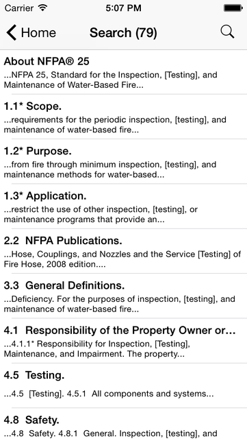 NFPA 25 2011 Edition screenshot 3