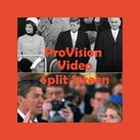 Provision video split screen for ipad