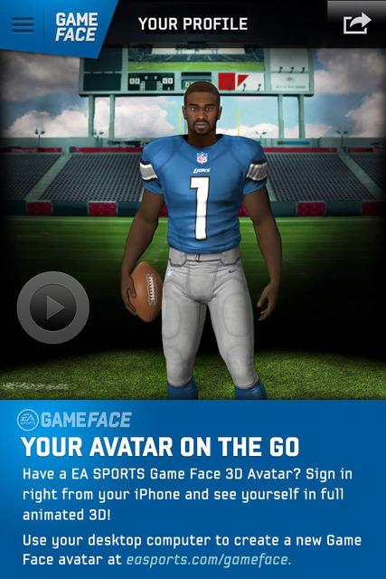 About ea sports game face 3d avatar ios app store version ea ea sports game face 3d avatar screenshot 1 solutioingenieria Gallery