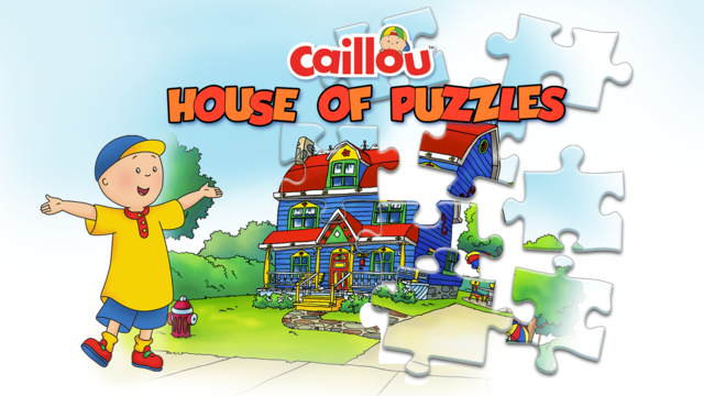 Caillou House of Puzzles screenshot 1