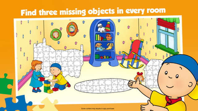 Caillou House of Puzzles screenshot 2
