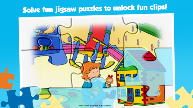 Caillou House of Puzzles screenshot 3