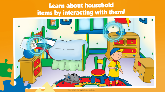 Caillou House of Puzzles screenshot 5