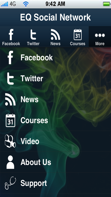 EQ SocialNet screenshot 1