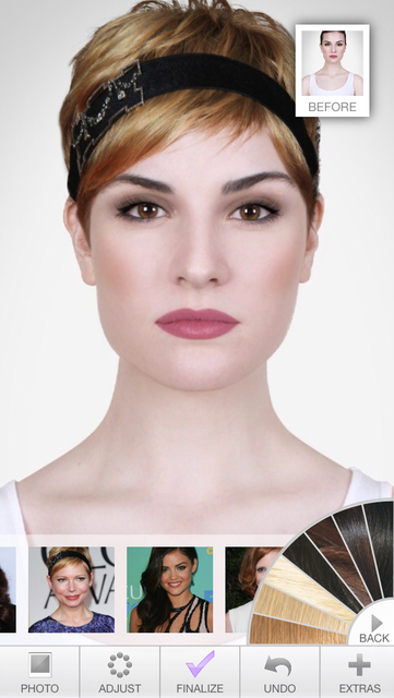 Hairstyles - Celebrity Hair Try-On screenshot 4