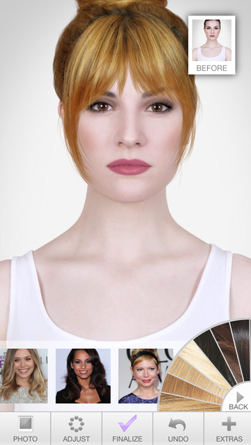 Hairstyles - Celebrity Hair Try-On screenshot 5