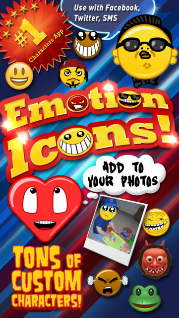 Emoji Characters and Smileys! screenshot 1