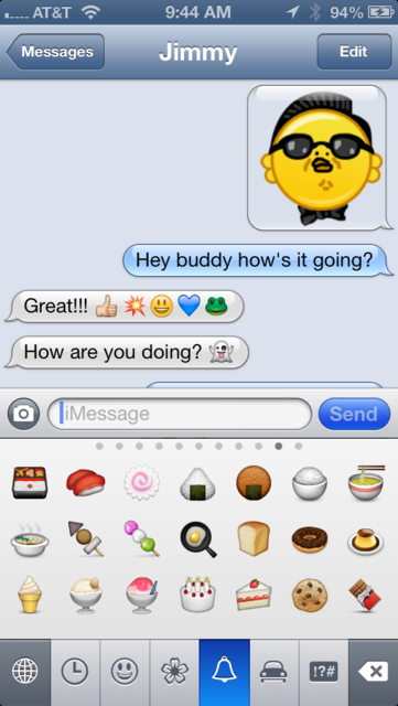 Emoji Characters and Smileys! screenshot 5