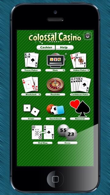 Colossal Casino screenshot 1