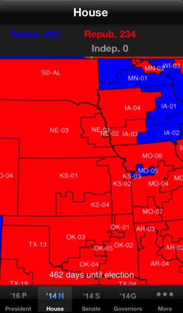 Election 2016 Electoral Maps screenshot 1