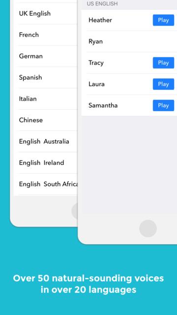 NaturalReader Text to Speech screenshot 4