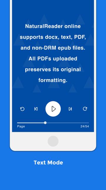 NaturalReader Text to Speech screenshot 5