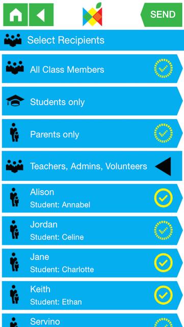 Class Messenger screenshot 1