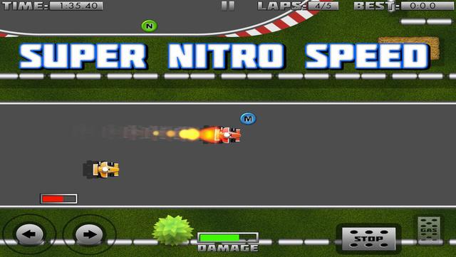 Mini Formula 1 Racing screenshot 1