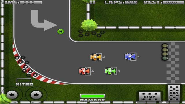 Mini Formula 1 Racing screenshot 2