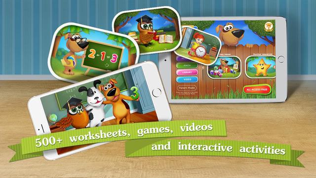 Kindergarten math & reading learning kids games screenshot 8