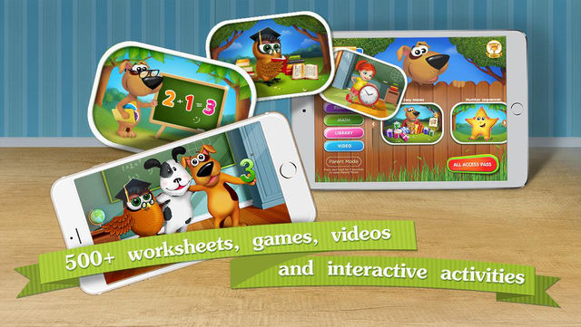 Kindergarten math & reading learning kids games screenshot 13